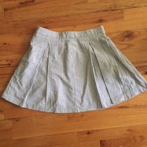 Uniqlo Seersucker Tennis Skirt
